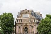 Beautiful Saint Michel fountain in Paris — Foto de Stock