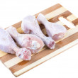 Royalty-Free Stock Photo: Close up of fresh raw chicken legs