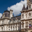 Historic building in Paris France - Stock Photo