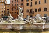 Piazza navona, řím, itálie — Stock fotografie
