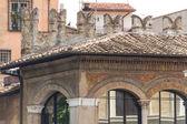 Rome, italien. typische architektonische details der alten stadt — Stockfoto