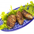 Stock Photo: Homemade cutlet