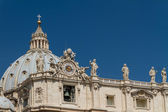 Basilica di San Pietro, Vatican City, Rome, Italy — Stock Photo