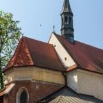 Historic building in Krakow. Poland — Stock Photo