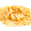 Stock Photo: Raw yellow Italipasta