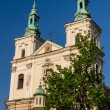 Old Church of Sts. Floriin Krakow. Poland — Stock Photo #22633705