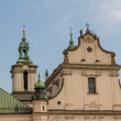 cathedral in old town of cracow — Stock Photo #22634711