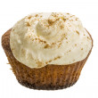 Stock Photo: Cupcake with cream