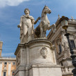 Campidoglio square in Rome — Stock Photo