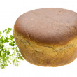 Stock Photo: Bread with parsley and dill