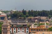 Widok na Rzym, Włochy — Zdjęcie stockowe