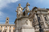 Campidoglio square in Rome — Stock Photo