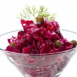 Vinaigrette Russibeetroot salad — Stock Photo #22974320
