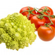 Stock Photo: Romanesco cabbage