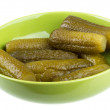 Stock Photo: Marinaded cucumber