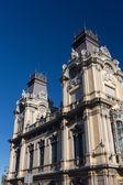 Porto di Barcellona, edificio nella città di Barcellona (Spagna) — Foto Stock