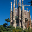 Royalty-Free Stock Photo: BARCELONA SPAIN - OCTOBER 28: La Sagrada Familia - the impressiv