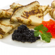Royalty-Free Stock Photo: Russian pancakes