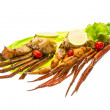 Stock Photo: Crab legs