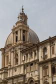 Saint agnese içinde agone piazza navona, roma, i̇talya — Stok fotoğraf