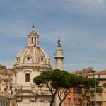 Santissimo Nome di Maria Rome church. Rome. Italy. — Stock Photo #23615821