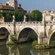 Rome bridges — Stock Photo #23617599