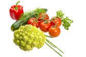 Romanesco cabbage — Stock Photo