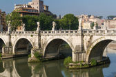 Rome bridges — Stockfoto