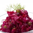 Vinaigrette Russibeetroot salad — Stock Photo #23644989