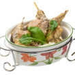 Roasted rabbit - Stock Photo