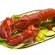 Stock Photo: Large Lobster