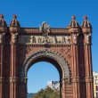 BarcelonArch of Triumph — Stock Photo #23990553