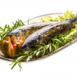 Roasted Mackerel — Stock Photo #23991445