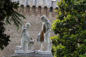 Vatican Gardens, Rome — Stock Photo