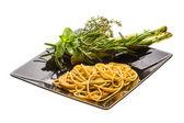 špagety s rozmarýnem — Stock fotografie