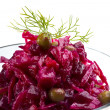 Vinaigrette Russibeetroot salad — Stock Photo #24978035