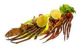 Crab legs — Stock Photo