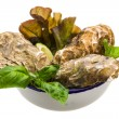 Stock Photo: Fresh oyster