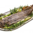 Fish Dover sole roasted — Stok Fotoğraf #25394269