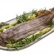 Fish Dover sole roasted — Stock fotografie #25394269