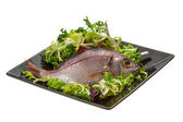 Raw Sea Perch — Stock Photo