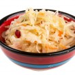 Sauerkraut - Russian national food — Stockfoto