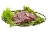 Raw pork meat — Stock Photo