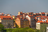 Old Town by the river Vistula picturesque scenery in the city of — Stock Photo