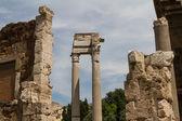 Ruins by Teatro di Marcello, Rome - Italy — 图库照片