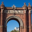 BarcelonArch of Triumph — Stock Photo #26079821