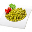 Marinated peas — Stock Photo