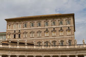 Buildings in Vatican, the Holy See within Rome, Italy. Part of S — Стоковое фото
