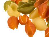 Цветные макароны — Стоковое фото