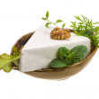 Stock Photo: Brie cheese